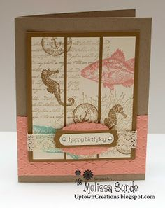 Uptown Creations- Stampin' Up! Independent Demonstrator: By The Tide