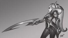 League of Legends Diana - KNKL by Knockwurst on DeviantArt