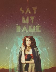 Florence and The Machine poster, so cool