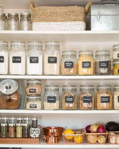 DIY Organizing Ideas for Kitchen - Pantry Organization For The New Year - Cheap .DIY Organizing Ideas for Kitchen - Pantry Organization For The New Year - Cheap and Easy Ways to Get Your Kitchen Organized - Dollar Tree Crafts, Spac. Kitchen Organization Pantry, Kitchen Pantry, Organization Hacks, Organized Pantry, Pantry Ideas, Diy Kitchen, Open Pantry, Kitchen Cabinets, Organizing Ideas For Kitchen