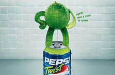 Cliente: Pepsi (twist de limón). Las grandes campañas son las que promueven ideas, mueven al mercado y revolucionan al mundo, porque una mala campaña mata un buen producto. Brockmann, Wiggenhauser & Asociados.