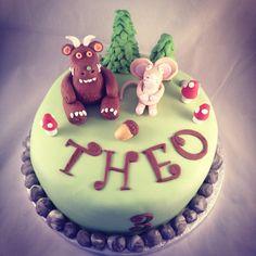 Gruffalo cake by www.candyscupcakes.co.uk