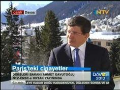 Dışişleri Bakanı Sn. Ahmet Davutoğlu, NTV-CNBC-e ortak yayınında Davos'tan  gündeme dair soruları cevaplandırdı.