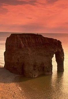 Elephant Rock in Prince Edward Island