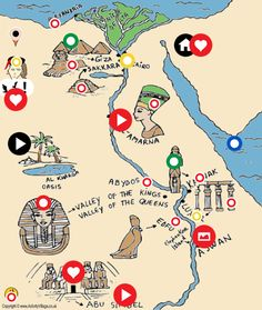 A Tour Around Beautiful Egypt by Azhar Youssef