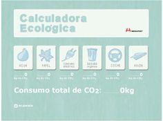 Iconos para la Calculadora Ecológica de Mediapost http://www.mediapost.es/images/calculadora-ecologica/