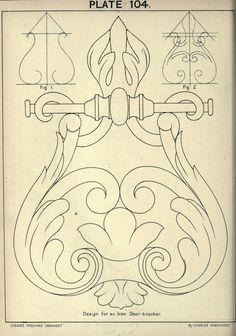 "альбом Чарльза Армстронга ""Орнамент Кьюсака от руки (1895)"""