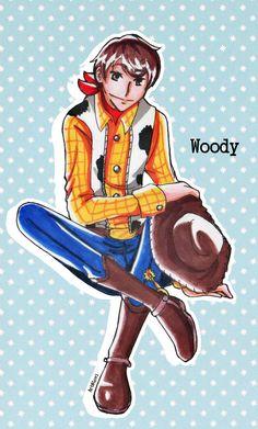 -Toy Story- Not a toy cowboy by xtomatolove.deviantart.com on @deviantART