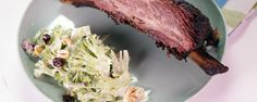 Beef Ribs with Shaved Broccoli Salad Recipe   The Chew - ABC.com