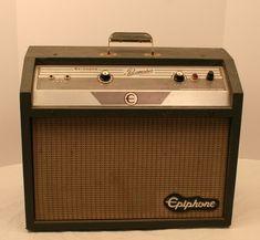 Vintage 1965 Epiphone Pacemaker Tube Guitar Amplifier Works