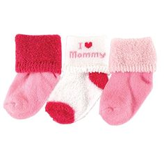 08801b50 Luvable Friends Newborn Baby Boys' and Girls' Terry Socks Choose Your  Color, Newborn Girl's, Size: 0 - 3 Months, Pink