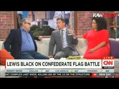 Lewis Black Opens a Can Of Whoop Ass On GOPers Pandering To Confederate flag Lovers — So CNN Cuts His Mic | Alternet