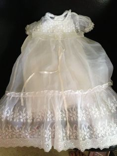 4fce0ebd5 Vintage ,Christening outfit , girl ,baptism dress ,heirloom ,gown ,special  occasion