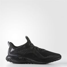 separation shoes a0492 f7fbe Adidas alphabounce Shoes (Core Black   Running White) Black Adidas, Adidas  Men,