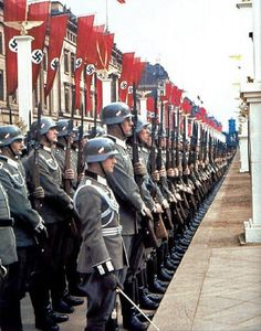 Hitler's 50th Anniversary parade, April 20, 1939.