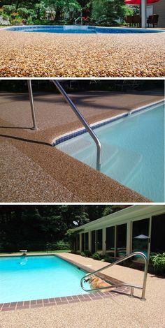 Dicas de materiais adequados para o uso no piso da borda e da área ao redor da piscina garantindo conforto e segurança.