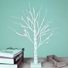 Henriqueta Birch Tree 18'' Table Lamp