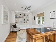 Stritt Design & Construction | Pittwater Residence Southern California Style, Lush Garden, Spanish Colonial, Cabana, Office Desk, Restoration, Construction, Contemporary, Architecture