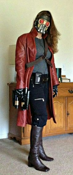 (Mostly) completed Star Lord Halloween costume. I … OP delivers! (Mostly) completed Star Lord Halloween costume. Star Lord Halloween Costume, Halloween Cosplay, Women Halloween, Female Halloween Costumes, Halloween Halloween, Halloween Makeup, Amazing Cosplay, Best Cosplay, Cool Cosplay
