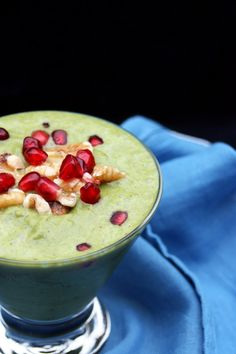 Spiced Pomegranate Apple Cider Smoothie Recipe by Green Blender