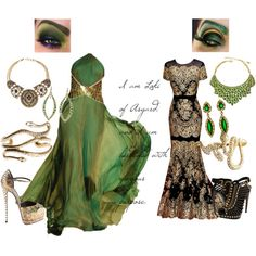 The Avengers: Loki inspired outfits.  Love them!