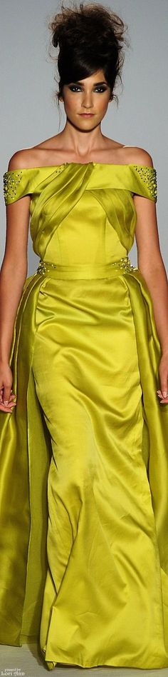 Abed Mahfouz Couture Fall 2015