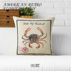 RUBI design sea animals cushions without inner fish shrimp crab style decorative throw pillows sofa home decor used in boat seat-in Cushion from Home, Kitchen & Garden on Aliexpress.com | Alibaba Group