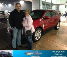 #HappyAnniversary to Deana Hughes on your 2013 #Cadillac #Srx from Phillip Burnette at Crossroads Chevrolet Cadillac!