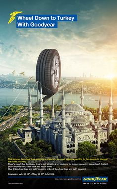 Goodyear Egypt Campaign by Icon Advertising LLC, via Behance
