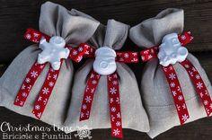 7 giorni a Natale: sacchettini con gessetti profumati
