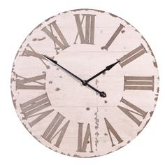 Round Wall Clock (Cream) | Clocks | Accessories