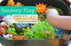 How to Set Up Successful Sensory Play Activities - So many ideas!