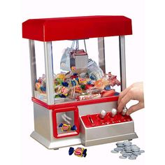 The Claw Game Electronic Candy Machine Arcade Game with Music