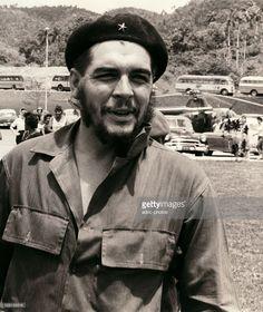 Ernesto Che Guevara (1928-1967), Cuban revolutionary of Argentine origin born in Rosario (Argentina). In Soroa in the Pinar del Rio Province (Cuba). In 1961.