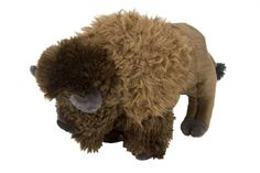 Cuddlekins Bison (12-inch) at theBIGzoo.com, a family-owned toy store.