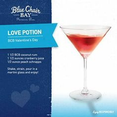 BLUE CHAIR BAY RUM - LOVE POTION
