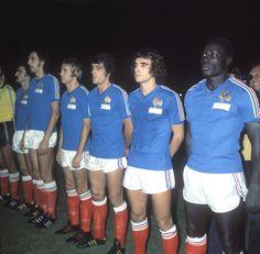 Raymond Domenech, François Bracci, Marco Molitor, Jean-Marc Guillou, Dominique Rocheteau et Jean-Pierre Adams