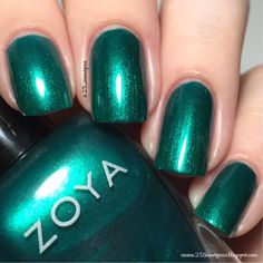 25 Sweetpeas: Zoya Giovanna Swatch & Review @zoyanailpolish