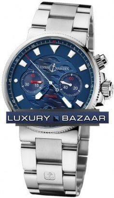 Ulysse Nardin Blue Seal Chronograph 353-68LE-7 [1307185111] - $199.00 : watchcopyer,Copy All luxury brands Replica watches.