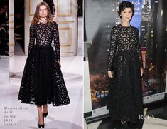 Audrey Tautou In Giambattista Valli Couture – 'Populaire' New York Premiere