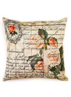 A Loja do Gato Preto | Capa de Almofada Rosas / Lettering #alojadogatopreto Throw Pillows, Mantle, Black, Bedding, Roses, Boutique Online Shopping, Cushions, Decorative Pillows, Decor Pillows
