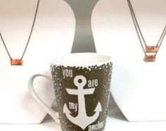 You are my Anchor  Anchor Mug Anchor Coffee Mug by Abbingtons