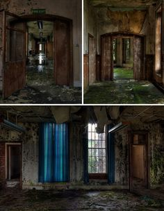 boarded windows abandoned interior - Google Search