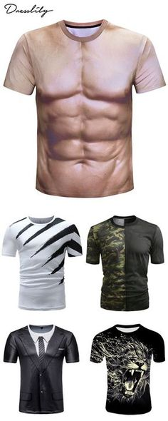Free shipping worldwide.Men casual t-shirts.#mentshirt#casaultshirt#dresslily