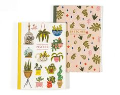 Pianta signora Duo libri | Notebook & Set Sketchbook
