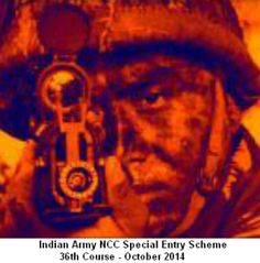 Apply for 36th NCC Special Entry Scheme Course of Indian Army. Join as Short Service Commissioned (SSC) Officer. More at http://cdsexam.com/indian-army-ncc-special-entry-scheme-36th-notification/