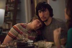 Adam Sackler (Adam Driver) with Hannah Horvath (Lena Dunham) on Girls