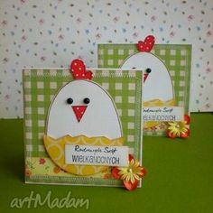 Wielkanocne kurczaczki-komplet - święta,jajko,kurczak,życzenia,wielkanoc
