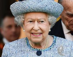 Queen Elizabeth II making her Royal visits in her many colourful and elegant outfits.