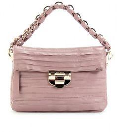 Liane Leather Handbag - Lyst